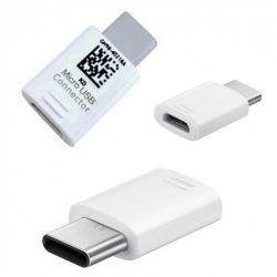 Samsung Micro USB Connector (USB Type C to Micro USB) White