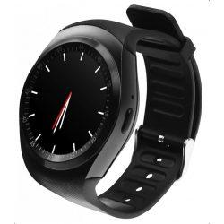 Media-Tech MT855 Round Watch GSM okosóra Black