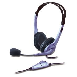Genius HS-04S Headset Purple/Black