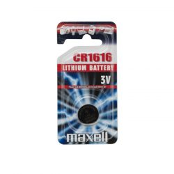 Maxell CR 1616 1db-os Lithium gombelem
