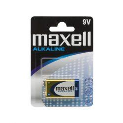 Maxell 9V alkáli elem 1db/csomag
