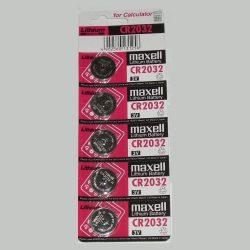 Maxell CR 2032 5db-os Lithium gombelem