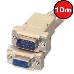 Kolink Quality VGA hosszabbító kábel 10m HD 15M/F