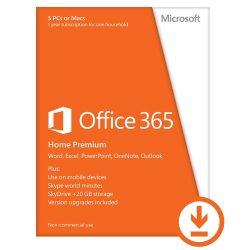 Microsoft Office 365 Home Premium 32/64bit 1év Subscription