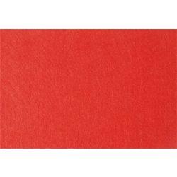 Filc anyag, puha, A4, piros