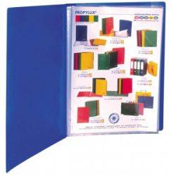 """Bemutatómappa, 40 zsebes, A4, VIQUEL """"Standard"""", kék"""