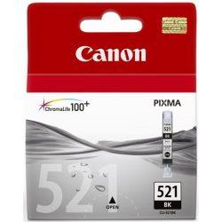 CLI-521B Tintapatron Pixma iP3600, 4600, MP540 nyomtatókhoz, CANON, fekete, 9ml