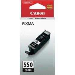 PGI-550PGB Tintapatron Pixma iP7250, MG5450, 6350 nyomtatókhoz, CANON, fekete, 15ml