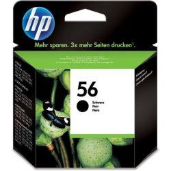 C6656AE Tintapatron DeskJet 450c, 450cb, 5150 nyomtatókhoz, HP 56, fekete, 19ml