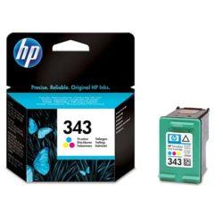 C8766EE Tintapatron DeskJet 460 mobil, 5740, 5940 nyomtatókhoz, HP 343, színes, 7ml