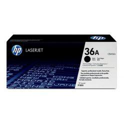 CB436A Lézertoner LaserJet P1505, 1505n, M1522 nyomtatókhoz, HP 36A, fekete, 2k