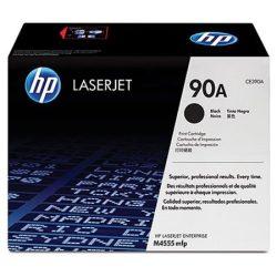 CE390A Lézertoner LaserJet M4555MFP nyomtatóhoz, HP 90A, fekete, 10k