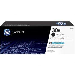 CF230A Lézertoner Laserjet M203, M227 nyomtatókhoz, HP 30A, fekete, 1,6k
